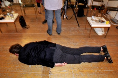 Intermissionplanking / photo: Cornelia Schmied