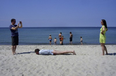 Seasideplanking / photo: Heike Cramer-Jekosch