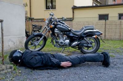 Motorcycleplanking / photo: Claus Bach
