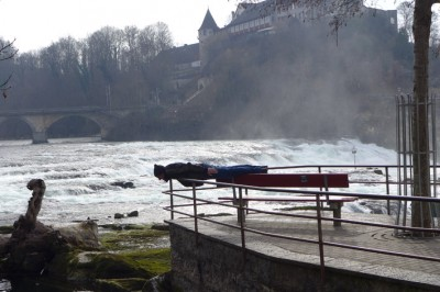 Rheinfallplanking / photo: Nancy Kirsten