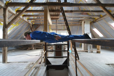 Attic planking / photo: Andrea Dietrich